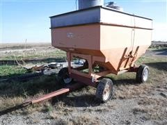 Ficklin 300 Bushel Gravity Box W/Running Gear