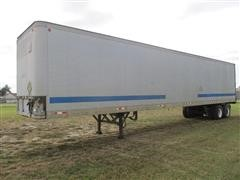 1984 Fruehauf FB9 T/A Cotton Seed Trailer