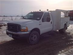 1999 Ford F450 Service Truck
