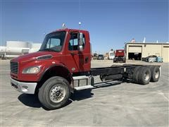 2012 Freightliner M2 106 Medium Duty 6x4 Day Cab T/A Cab & Chassis
