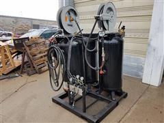 Shop Built Oil Vacuum & Dispensing Unit Valve Suction System