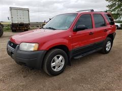 2001 Ford Escape XLS 4x4 SUV