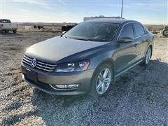 2012 Volkswagen Passat TDI SE 4 Door Sedan