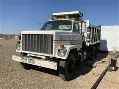 1981 GMC Brigadier T/A Dump Truck