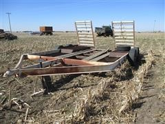 Jantz ST14 T/A Swather Trailer