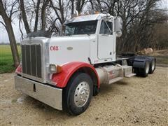 1996 Peterbilt 378 T/A Day Cab Truck Tractor