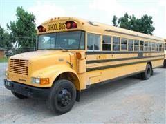 1998 International 3800 BlueBird 71 Passenger Bus