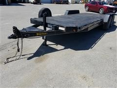 2010 Kaufman T/A Flatbed Trailer
