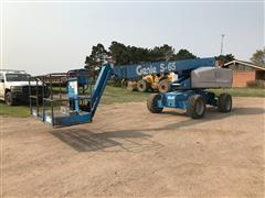 2005 Genie S-65 4x4 Boom Lift
