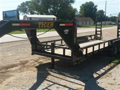 2016 Tiger Flatbed GN Trailer