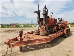 DitchWitch JT2720 Jett Track Mach 1 Boring Machine & 2014 Belshe Trailer