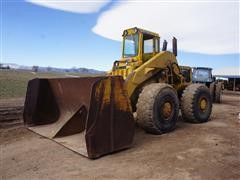 Trojan 40S-10 Over-The-Top Wheel Loader