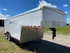 2013 Haulmark T/A Enclosed Gooseneck Trailer