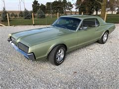 1967 Mercury Cougar 2 Door Tudor Hardtop Coupe