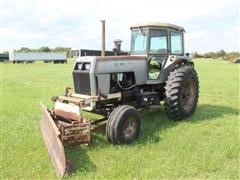 1979 White 2155 2WD Tractor W/Blade