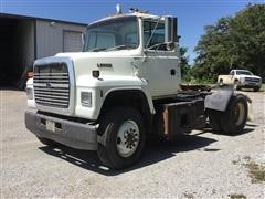 1992 Ford L9000 S/A Day Cab Truck Tractor