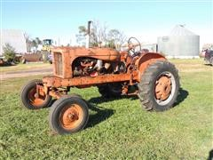 1951 Allis-Chalmers WD 2WD Tractor