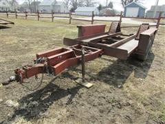 1972 DitchWitch Tilt T/A Utility Trailer