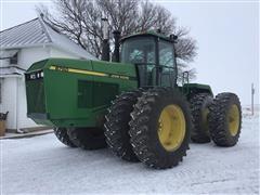 1991 John Deere 8760 4WD Tractor