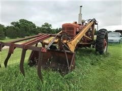 1953 Farmall Super M 2WD Tractor W/Loader
