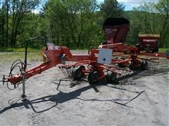 2009 Kuhn Masterdrive GA6522 Drawn Side Delivery Rake