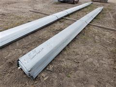 """Behlen Mfg Galvanized 10"""" Wide Steel Purlin"""