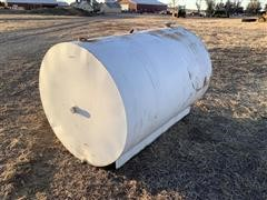 Steel 500 Gallon Fuel Tank