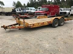 2010 Mirsberger RTSUT8018 Rugged Terrain T/A Flatbed Trailer