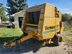 Vermeer 605K Auto Weave Net Wrap Round Baler