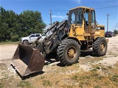 Caterpillar IT18B Integrated Tool Carrier Wheel Loader W/Bucket And Forks