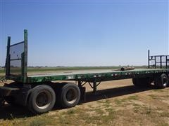 1972 Hobbs T/A Flatbed Trailer