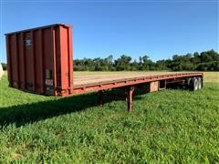 1983 Trailmobile T/A Flatbed Trailer