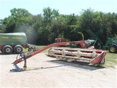 Hesston 14' Hydro Swing Pull Type Windrower