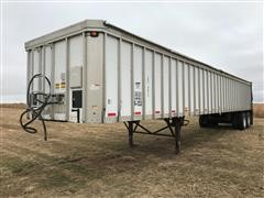 2004 Red River LD2-4672-54 T/A Live Bottom Trailer