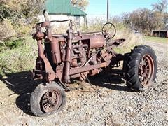 1937 Farmall F20 Narrow Tread 2WD Tractor