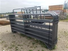 Behlen Mfg Corral Panels, Arch Gate & Feed Bunks