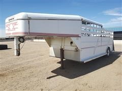 1997 Arrowhead Half Top Ranch Trailer