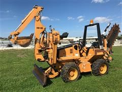 2008 Astec RT560 4x4x4 Trencher w/ Backhoe