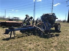 MonTag C06B 6 Ton Strip Till Dry Fertilizer Cart W/Toolbar