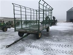 Homemade 16x8 Bale Wagon