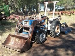 1980 Ford 1700 Tractor With 770 Loader