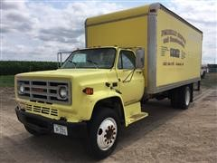 1988 GMC C6500 Box Truck