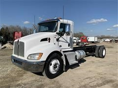 2015 Kenworth T370 S/A Cab & Chassis