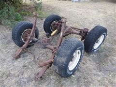 Ford Bronco Front & Rear Differentials W/Wheels & Tires
