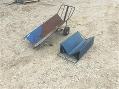 Dead Pig Cart And Dead Sled