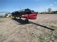 2014 Case IH 3152 Rigid Draper Header W/Transport