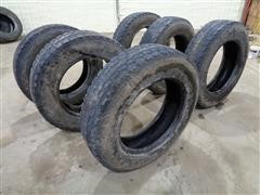 Hercules H-703 285/75R24 Truck Traction Tread Tires