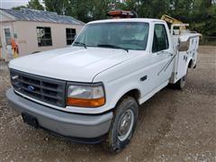 1996 Ford F-250 XL Service Truck