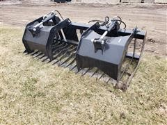 2020 Brute Skid Steer Rock/Brush Grapples