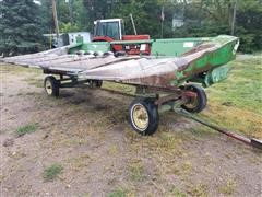 John Deere 644 Corn Head & JD Header Trailer
